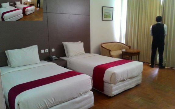Deluxe Twin Bed di Sinabung Hotel