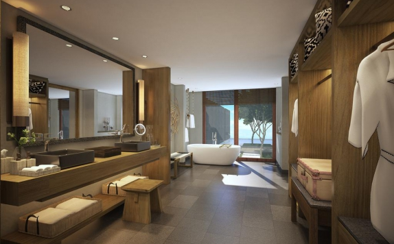 Bathroom di Six Senses Uluwatu