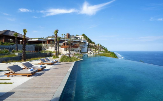 swimming pool di Six Senses Uluwatu