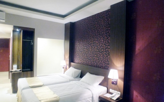 Twin Bed Room Hotel di Sofyan Inn Altama Pandeglang
