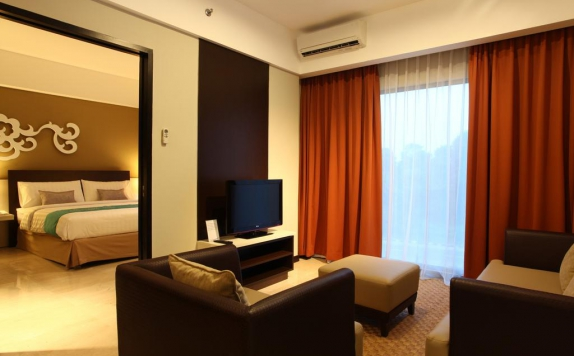 Tampilan Bedroom Hotel di Soll Marina Hotel & Conference Center Bangka