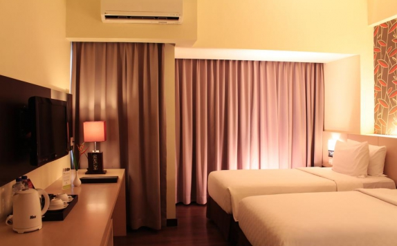 Guest Room Twin Bed di Solo Paragon Hotel & Residences