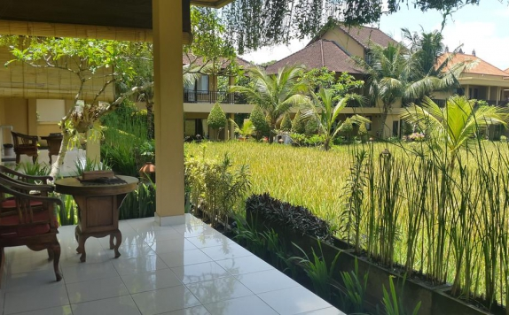 Terrace di SRI BUNGALOWS UBUD