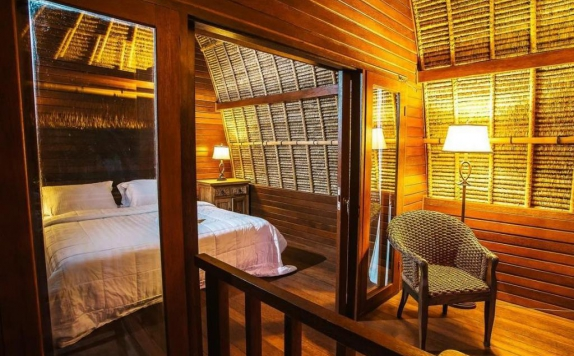 Interior di Sukanusa Luxury Huts