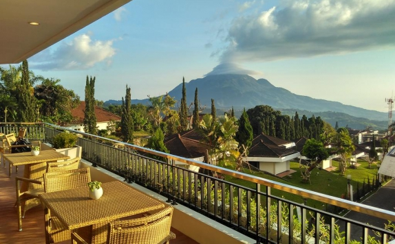 view di Surya Hotel & Cottage Prigen