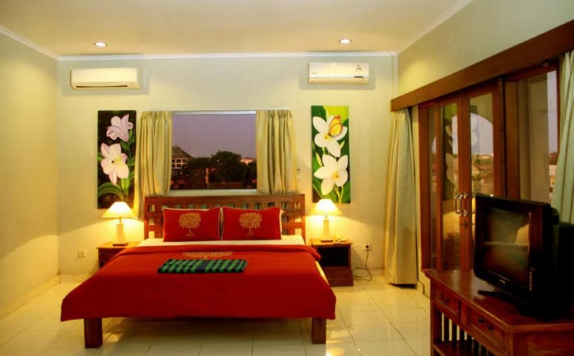 Tampilan Bedroom Hotel di Su s Cottages II