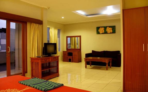 Tampilan Interior Hotel di Su s Cottages II