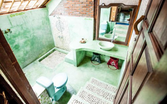 bathroom di Swasti Eco Cottages