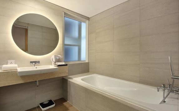 bathroom di Swiss-Belinn Simatupang