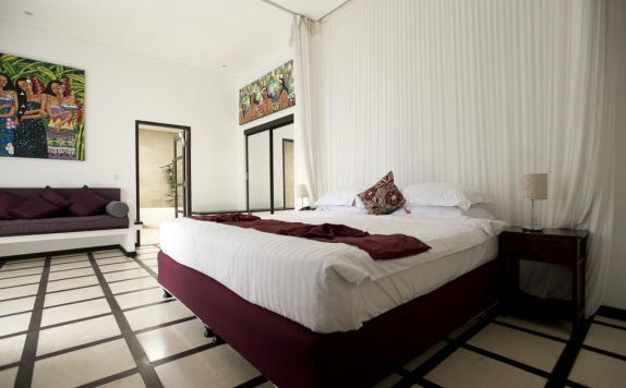 Guest room di Taman Wana Seminyak Luxury Villa Resort