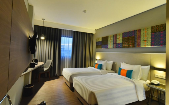 Guest room di The 101 Palembang Rajawali