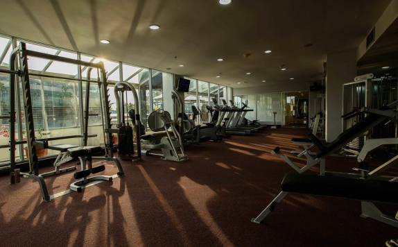 gym di The Arista Hotel