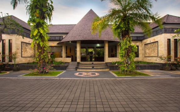 Entrance di The Bidadari Villas and Spa