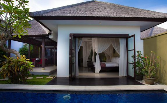 Exterior di The Bidadari Villas and Spa