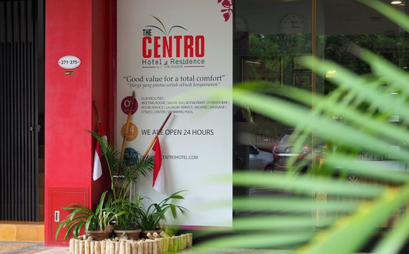 Eksterior di The Centro Hotel and Residence