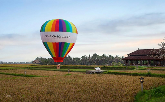 Balon Udara di The Chedi Club at Tanah Gajah