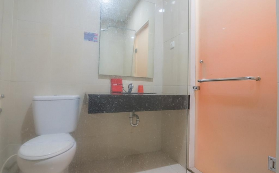 Bathroom di The Cherry Homes Hotel & Residence