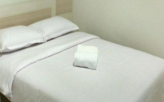 Double Bed Room di The Dinar Hotel Bandung