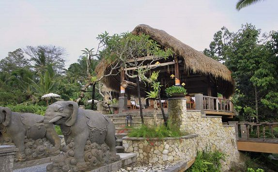 Restaurant di The Kayon Resort ubud Bali