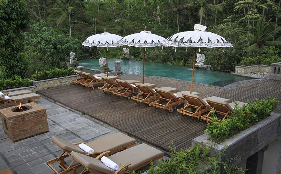 Swimming Pool di The Kayon Resort ubud Bali