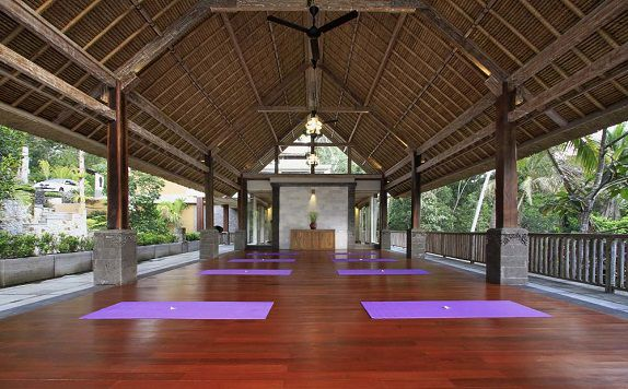 Yoga Studio di The Kayon Resort ubud Bali