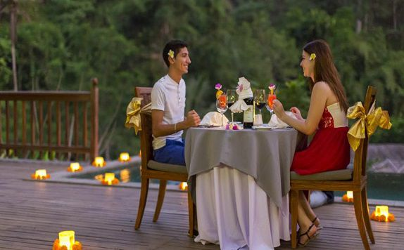 Romantic Dinner di The Lokha Ubud