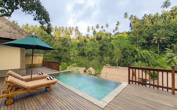 Swimming Pool di The Lokha Ubud