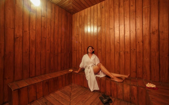 Sauna di The Radiant Hotel & Spa