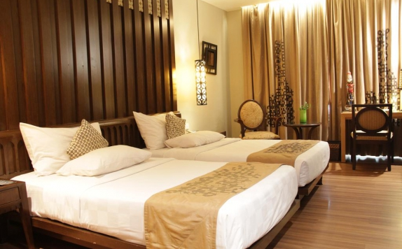 Guest room di The Royal Surakarta Heritage