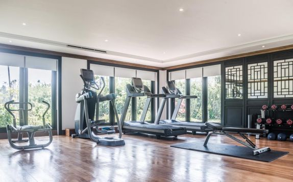 Fasilitas Fitness Center di The Sanchaya Bintan