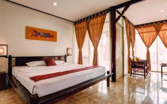 guest room di The Seminyak Village Resort