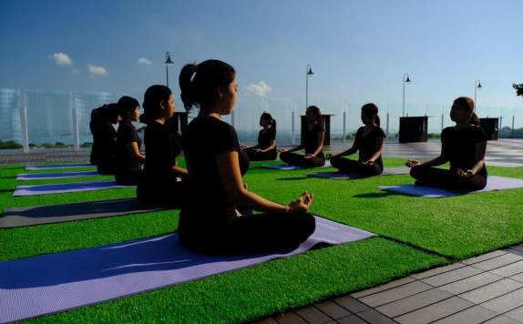 Fitness Center & Yoga di The Sintesa Jimbaran Bali