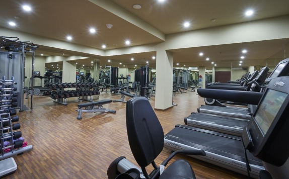 gym center di The Sintesa Jimbaran Bali