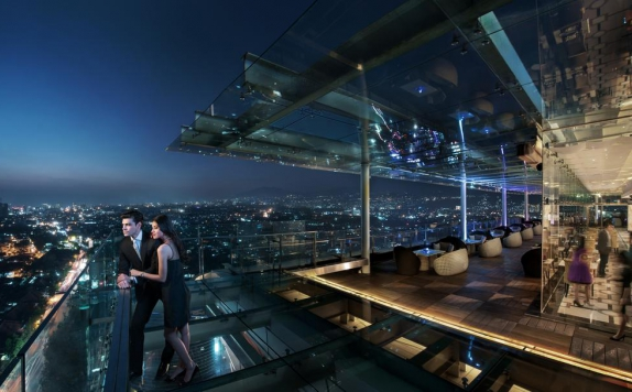 Rooftop Lounge di The Trans Luxury Hotel