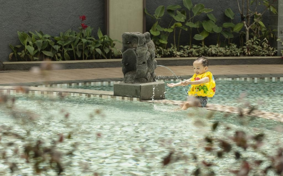 Swimming pool di The Wujil Resort & Conventions