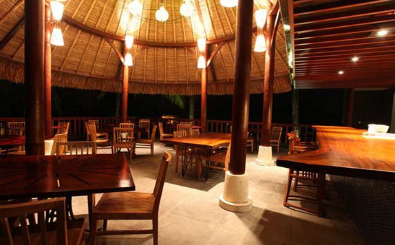 Restaurant di Ubud Green Resort Villas
