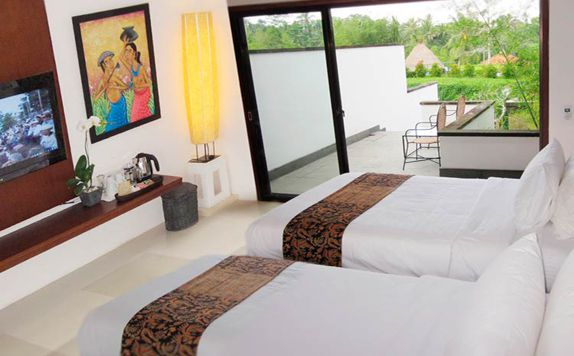 Two Bedroom Duplex Suite di Ubud Green Resort Villas
