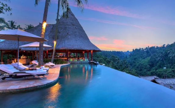 swimming pool di Viceroy Bali
