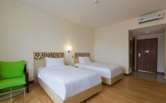 guest room twin bed di Vihan Suites