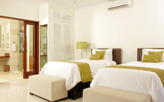 Twin Bed Room di Villa Asante