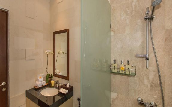 bathroom di Villa Club B Residence