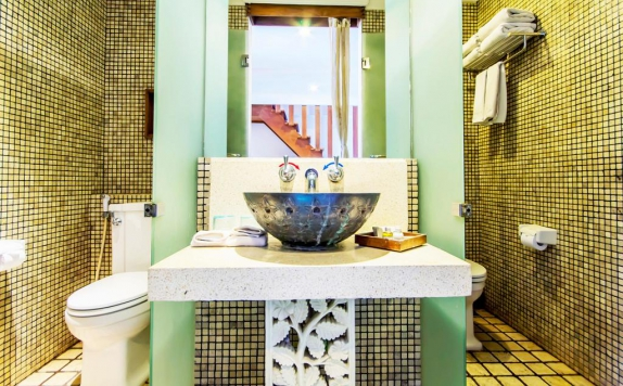 Bathroom di Villa Damar