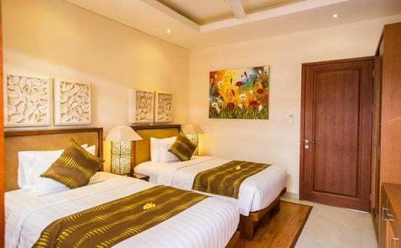Twin Bed di Villa Seriska Dua