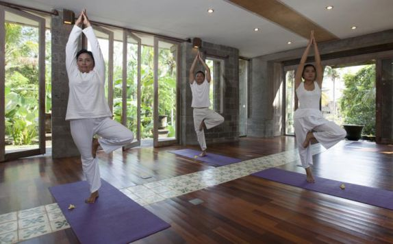 Yoga di Wapa di Ume Resort & Spa