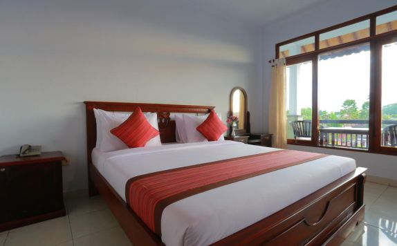 Guest room di Warsa's Garden Bungalows And Spa