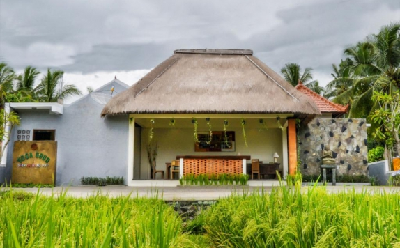 Front view di Yoga Ubud Villas