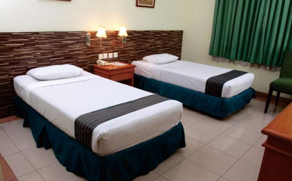 Guest room di Zamrud Hotel & Convention Hall